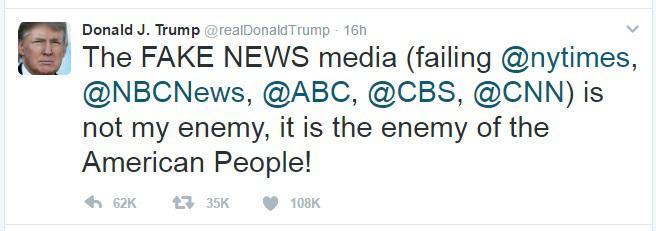 Trump v. Journalists