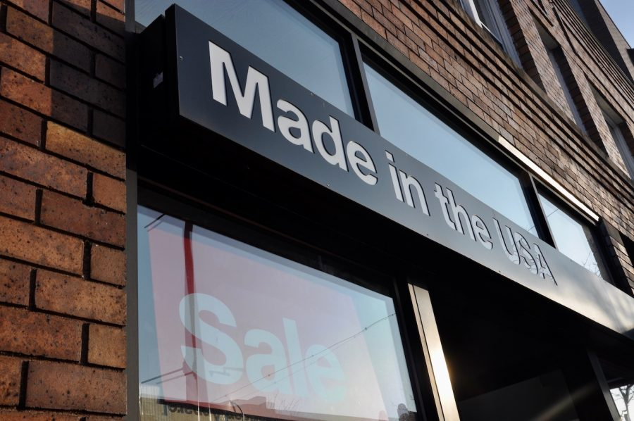 American Apparel, an all American made company, is going out of business.