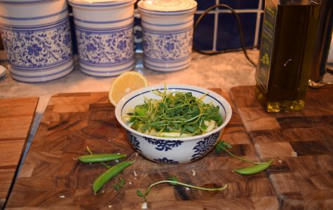 Spring Pasta with Lemon and Green Vegetables