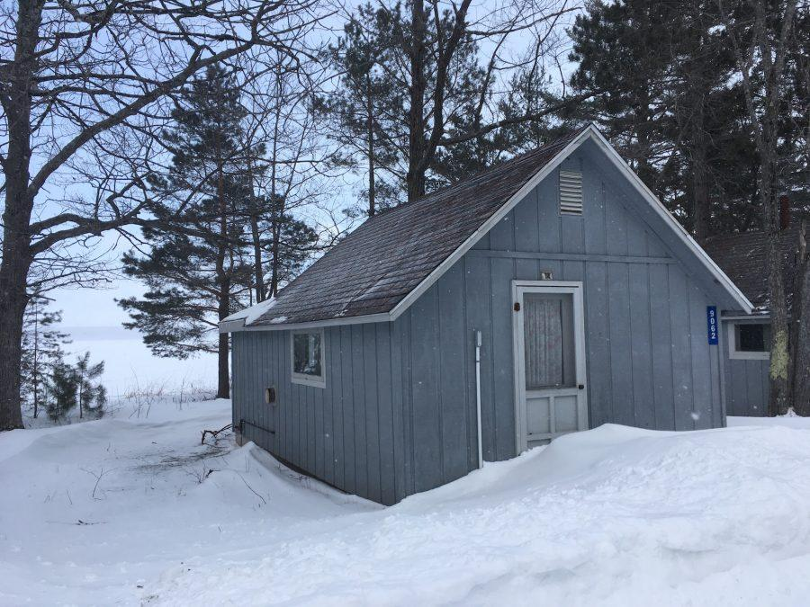 One of the cabins on the University of Michigan Biological Station, usually occupied by graduate students studying at the campus.