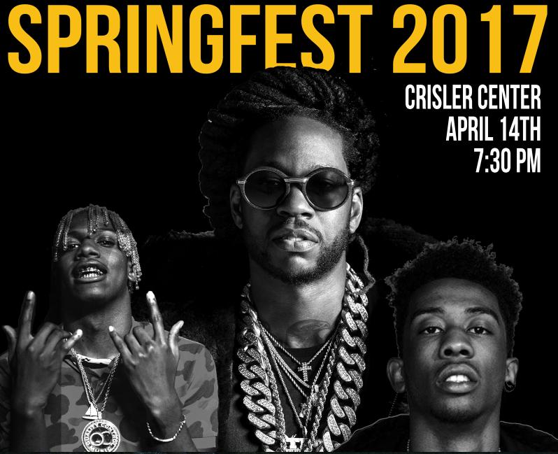 2 Chainz, Desiigner, Lil Yachty to Headline 2017 SpringFest