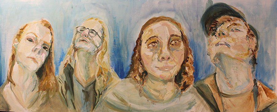 Painting by Community High School senior Olivia Comai.