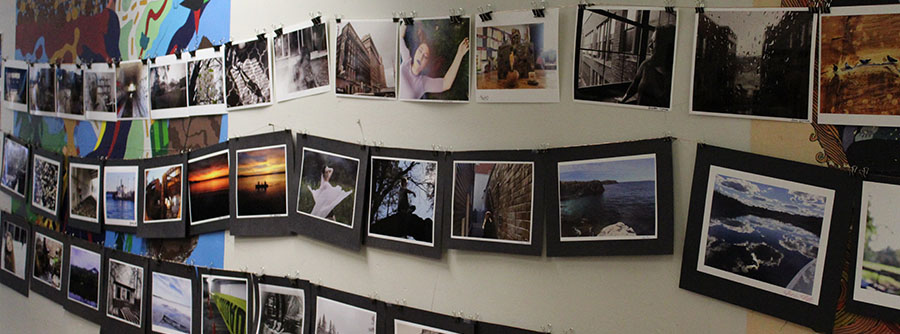 Photographs from Steve Coron's first and second semester digital photography classes.