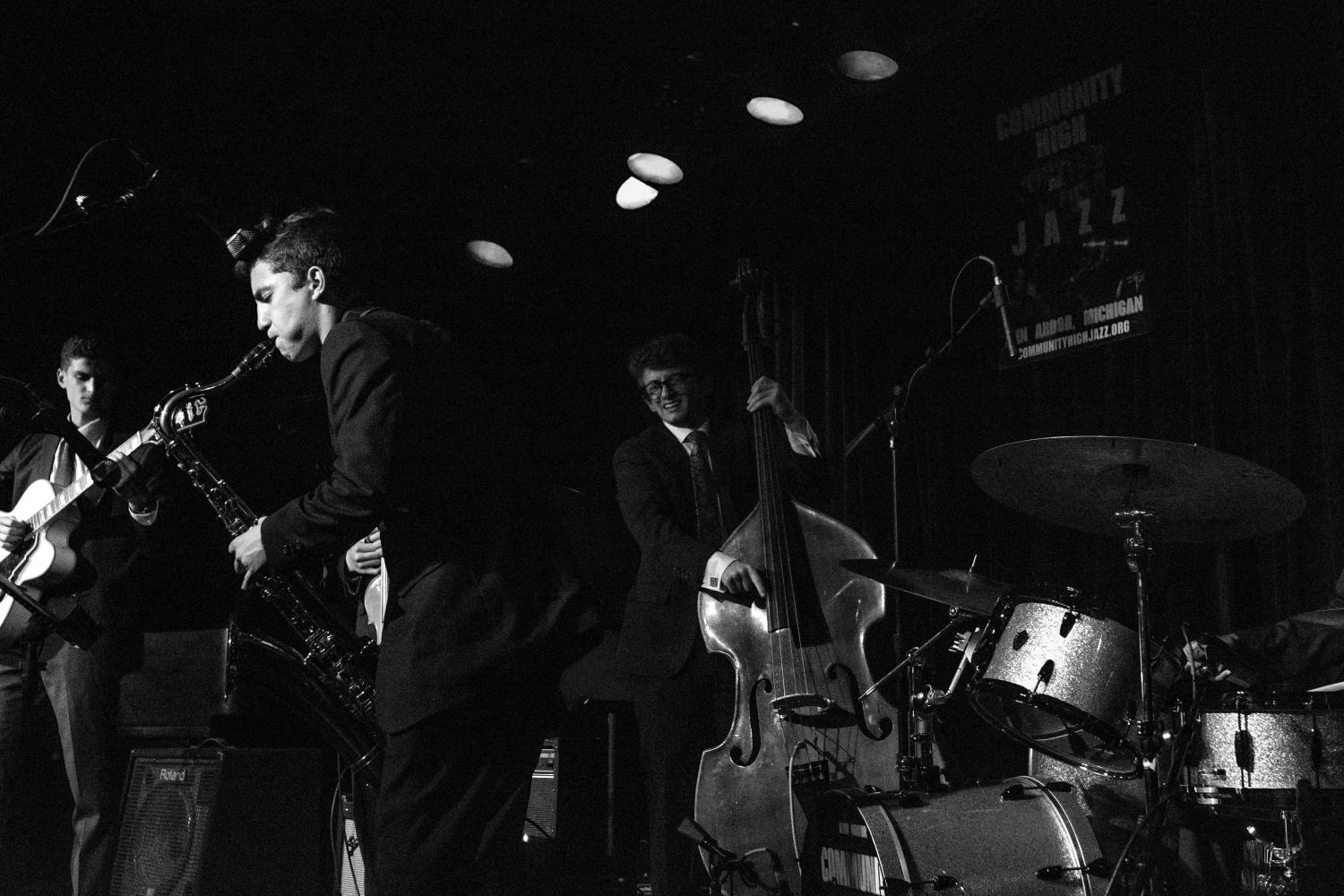CHS Jazz students perform at The Ark on May 22, 2017. Photos by Alec Redding