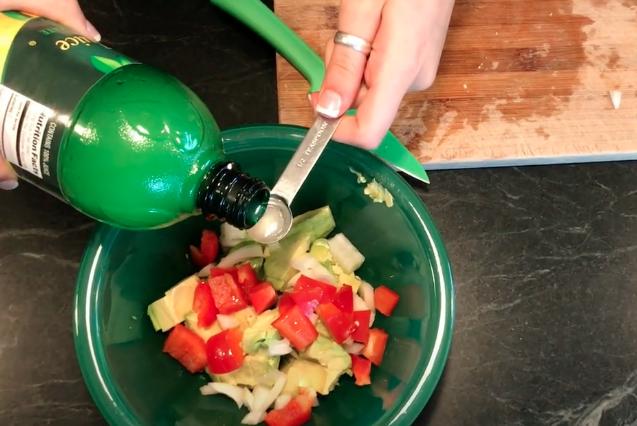 Easy Avocado Salad