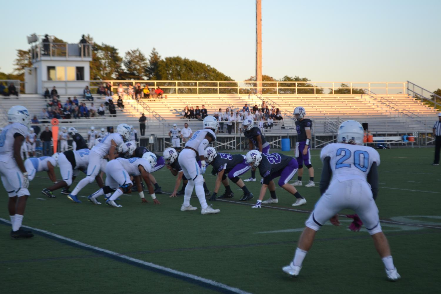 Skyline and Pioneer battled against each other on Sept. 28 at Hollway Field.