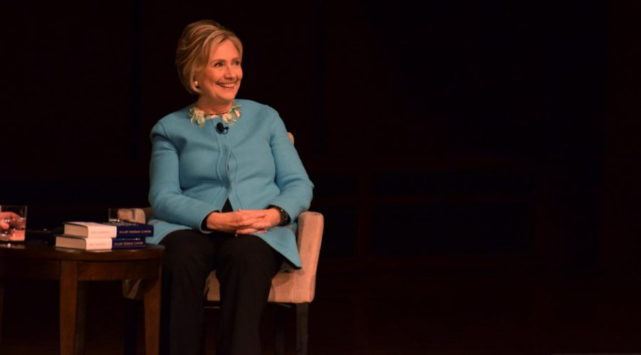 Ann Arbor was Clinton's sixth stop on her
