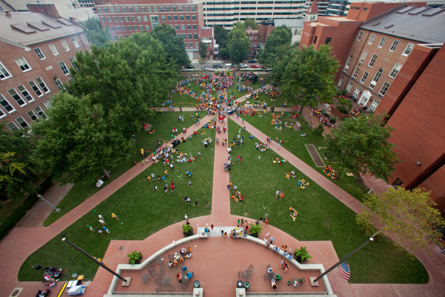 This photo was obtained from George Washington University's website at https://undergraduate.admissions.gwu.edu/