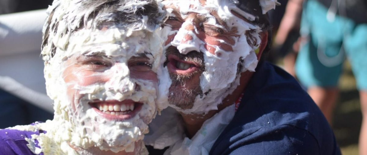 Pieing for a Cause
