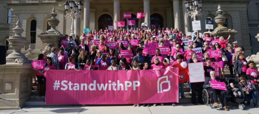 The attendees of Planned Parenthood's