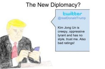 Is Twitter part of the new diplomacy?