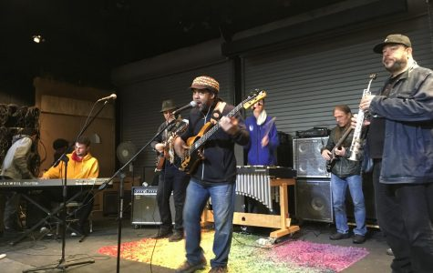 Community High School's Jazz students Go to Victor Wooten's Music and Nature Camp