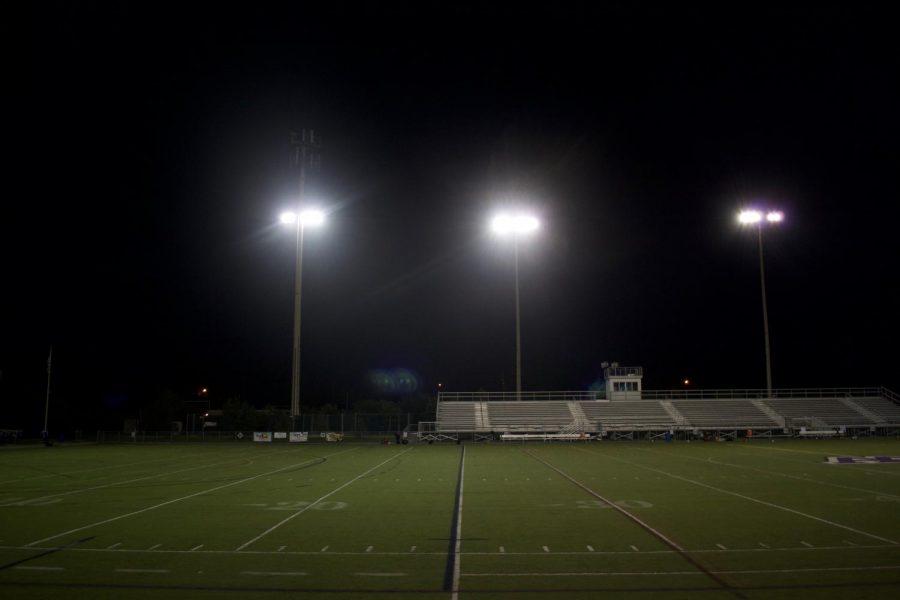 Pioneer v. Huron football game