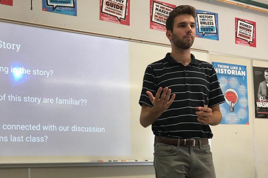 Ryan Sylvester, The New World History Teacher