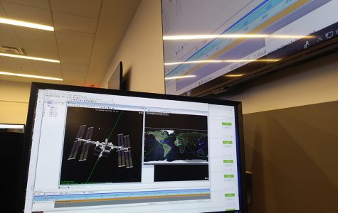 Here, the Systems Tool Kit is used to track the International Space Station. Originally used for spacecraft operations, its use expanded to all types of vehicles.