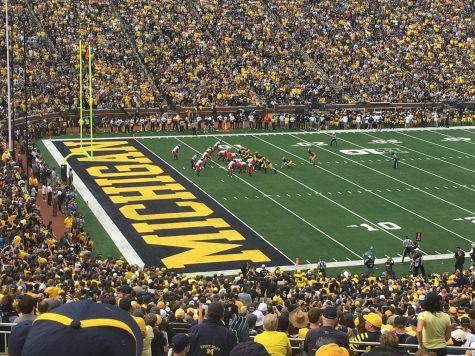 Michigan v. Maryland College Football Game