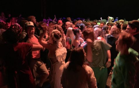 During the Dewoskin  Forum dance, more students than ever previously recorded fill into Craft Theater. Many students took the night to premier their Halloween costumes to their friends that they wouldn't be seeing on Halloween night.