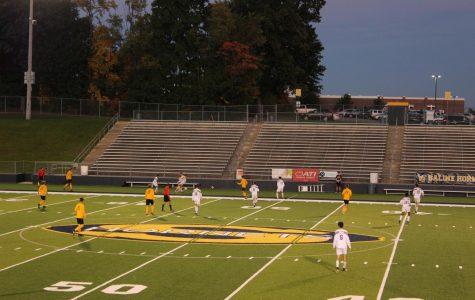 Pioneer v. Saline Varsity Men's soccer game recap