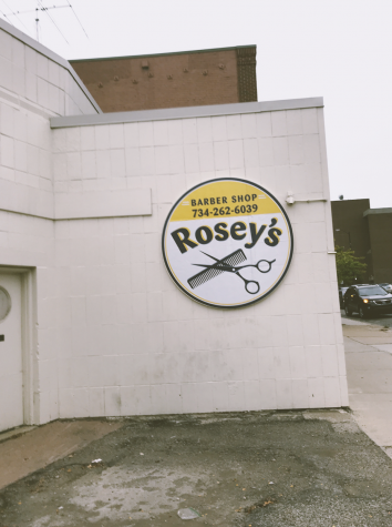 I took this outside of rosey's, the barber.