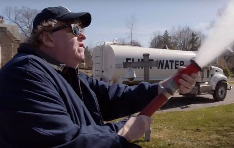 "Michael Moore's take on Trump in ""Fahrenheit 11/9"""