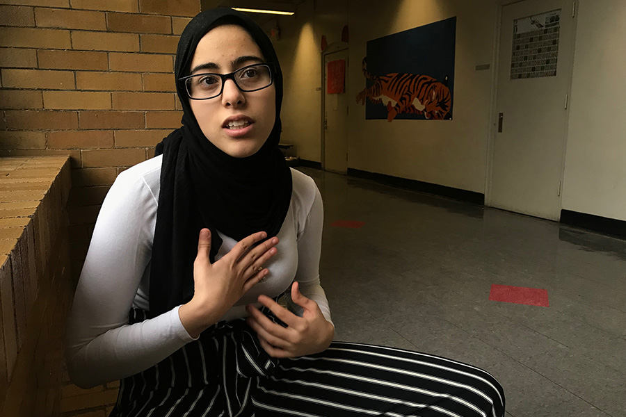 Betoul Ajin speaks about growing up bilingual in the American public school system. Up through eighth grade, Ajin didn't fully embrace her culture, but now she feels great about who she is as an Arab Muslim.