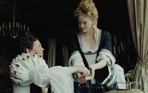 """The Favourite:"" a triangulation of love, greed and war"