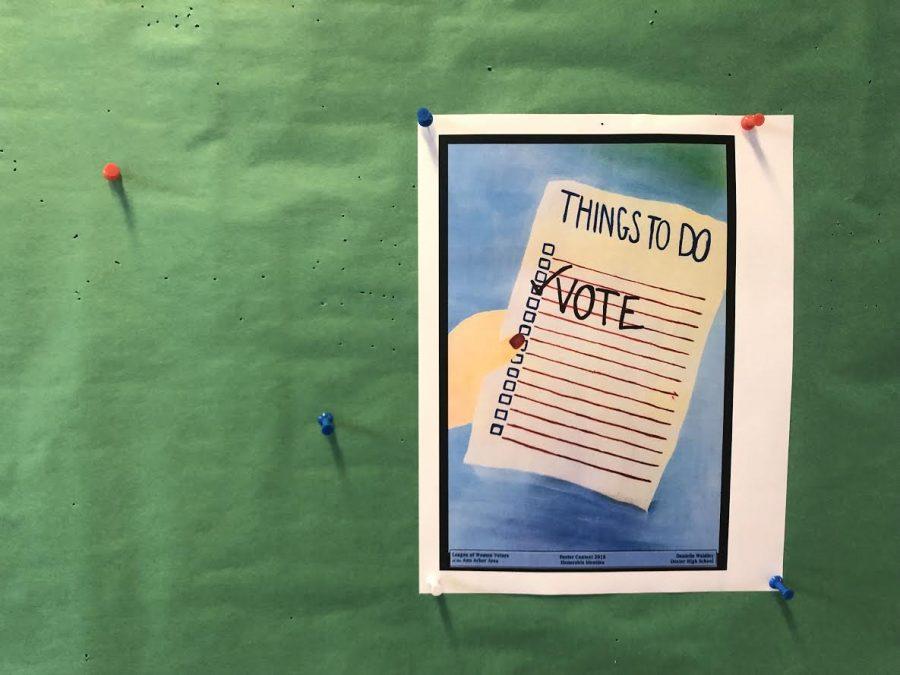 Community Students Register to Vote