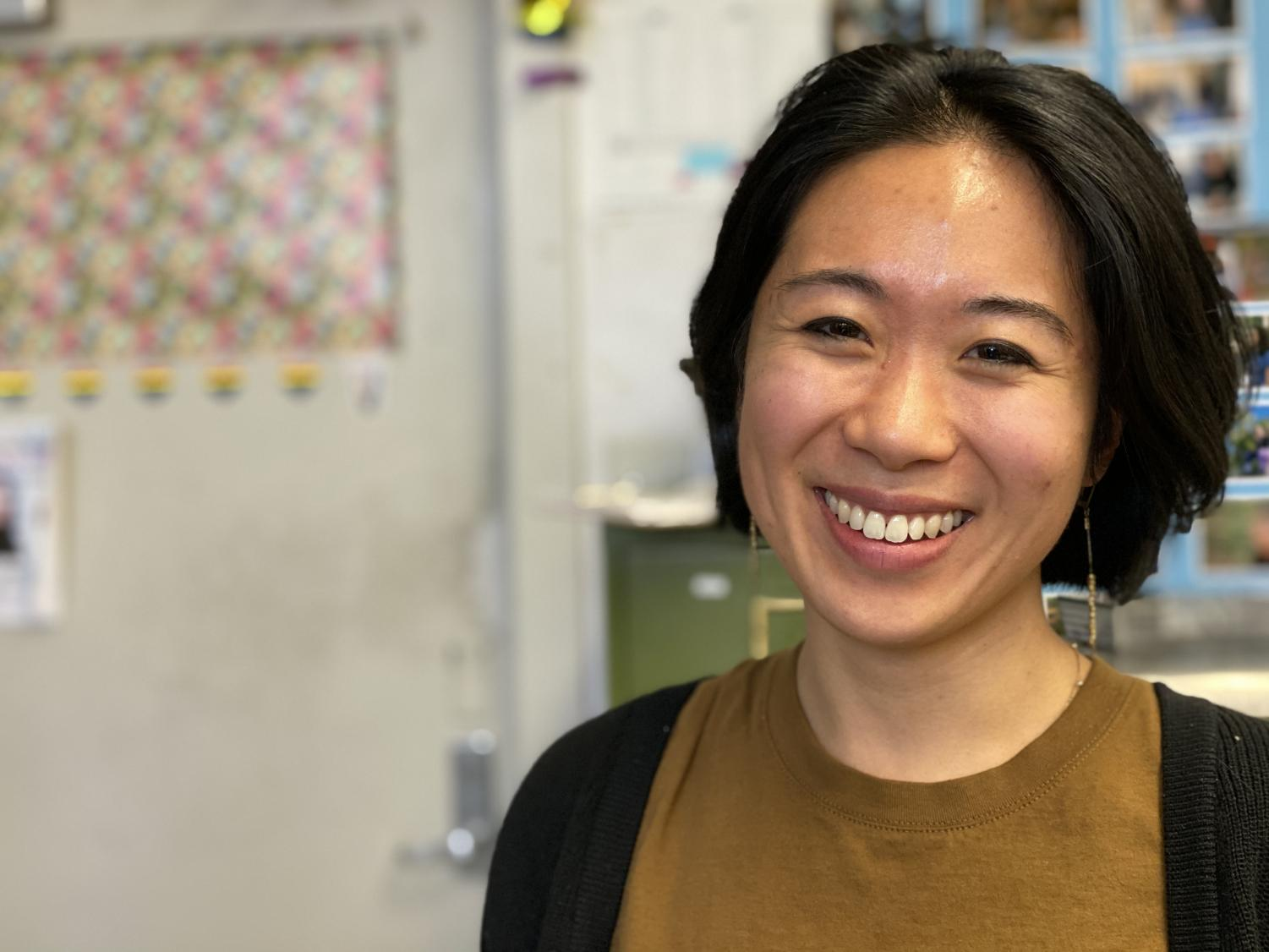 Carlina Duan visits Community High School to teach and share poetry. She has been practicing poetry since she was a freshman at Pioneer High School.