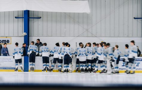Playing for number eight: Skyline hockey celebrates senior night and the life of a teammate