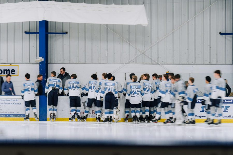 Playing+for+number+eight%3A+Skyline+hockey+celebrates+senior+night+and+the+life+of+a+teammate