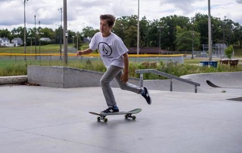 Alec Simon's love for skateboarding
