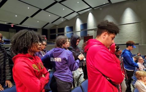 Pioneer BSU takes complaints to the AAPS School Board