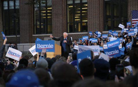 Bernie Sanders visits Ann Arbor