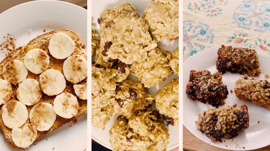 Three ways to turn bananas into breakfast
