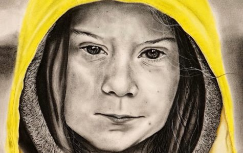 Art through quarantine: Ryan Thomas-Palmer's piece on Greta Thunberg