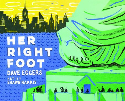 "Photo of the cover art of ""Her Right Foot"" by Dave Eggers"