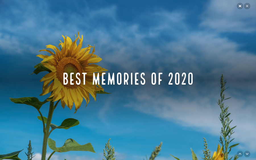 Best Memories of 2020