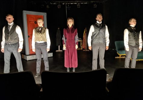 The Penny Seats perform Dr. Jekyll and Mr. Hyde last year at Washtenaw Community College. The show was adapted by Jeffrey Hatcher, and directed by Joseph Zettlemaier.