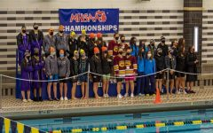 Pioneer Women's Swim and Dive take first place at state championships
