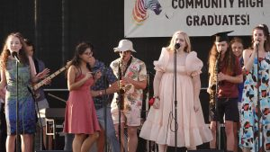Community High Jazz Brings Graduation Attendees to Their Feet
