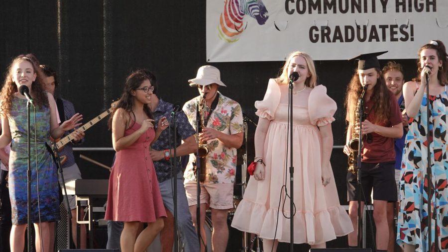 CHS Jazz Brings Graduation Attendees to Their Feet
